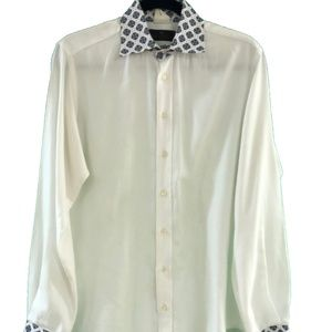 ETRO Button Down Mens Dress Shirt Size 40